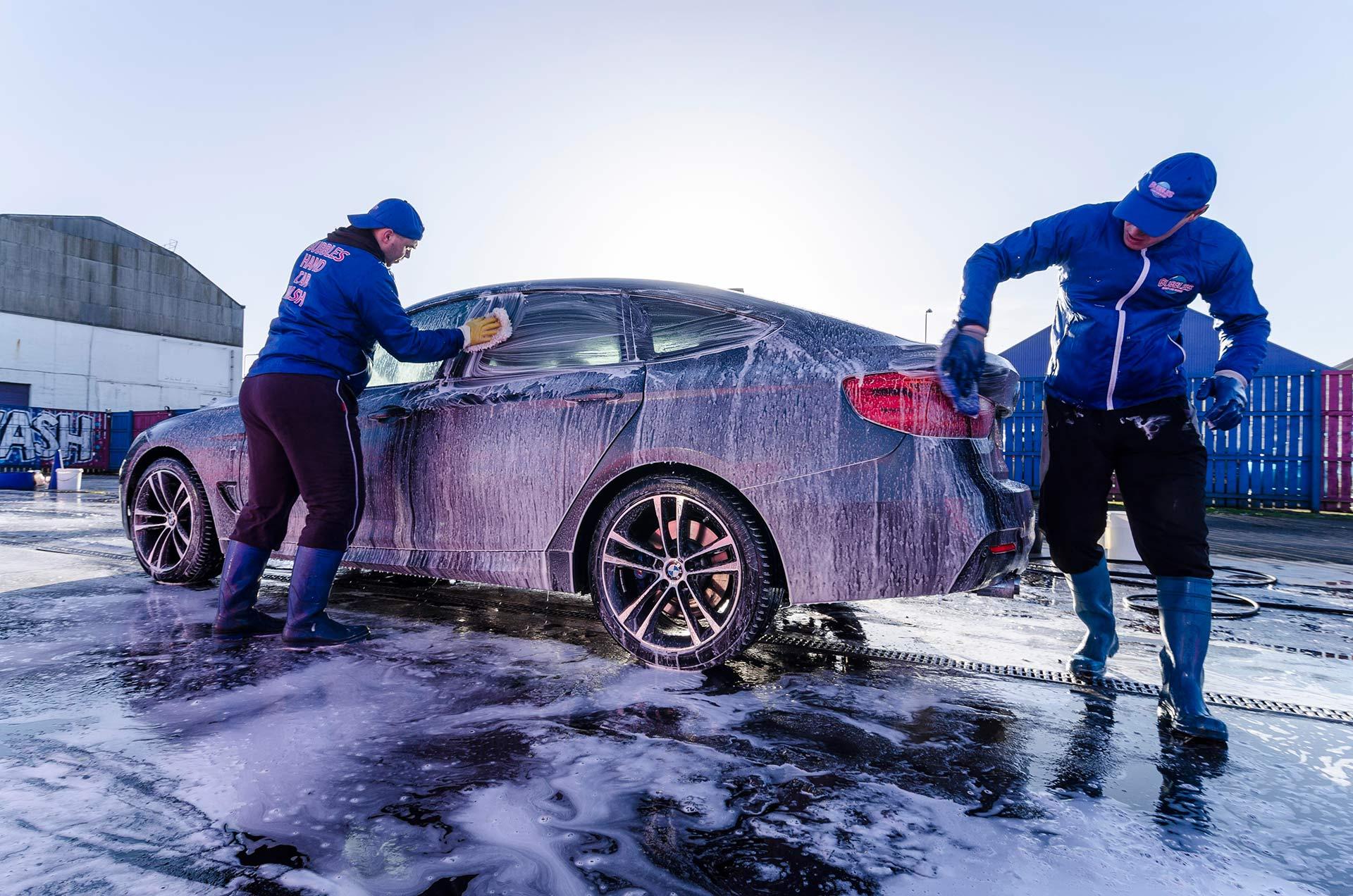 Lavadero de autos profesionales