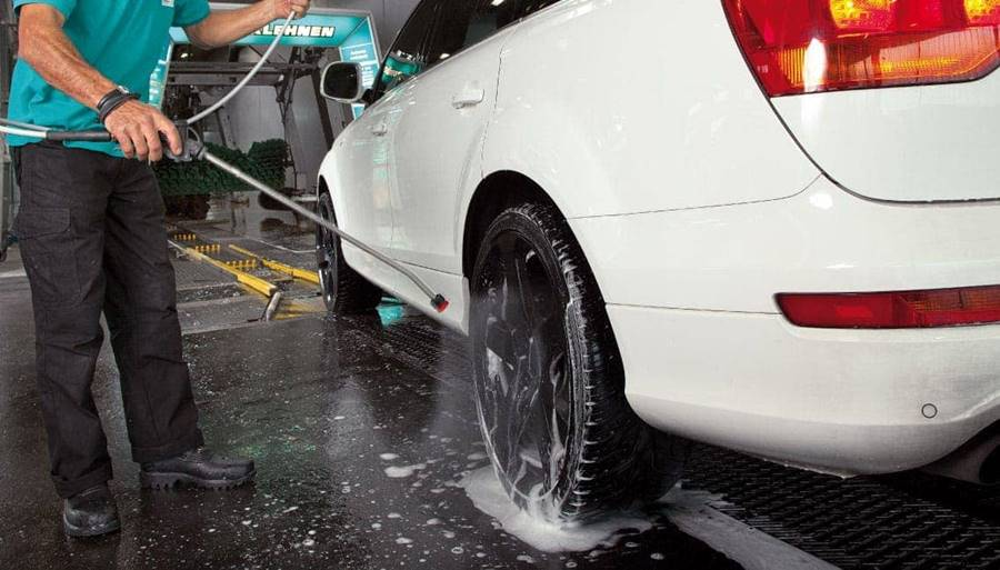 sistema de lavado manual car wash