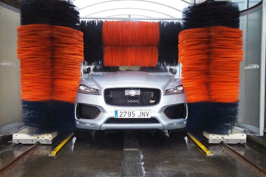tunel de lavado de autos