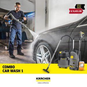 Karcher peru combo car wash 1
