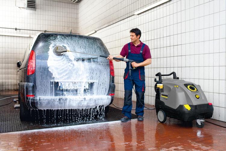 3 máquinas para lavado de autos en Perú