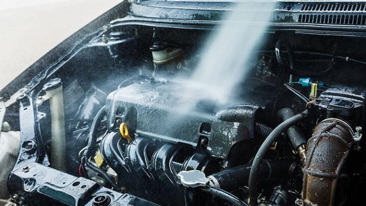 Lavado de motor de auto: Pasos para lavar el motor
